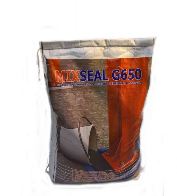 Vữa rót tự chảy Mixseal G650