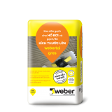 Keo dán gạch Webertai gres bao 20kg màu trắng