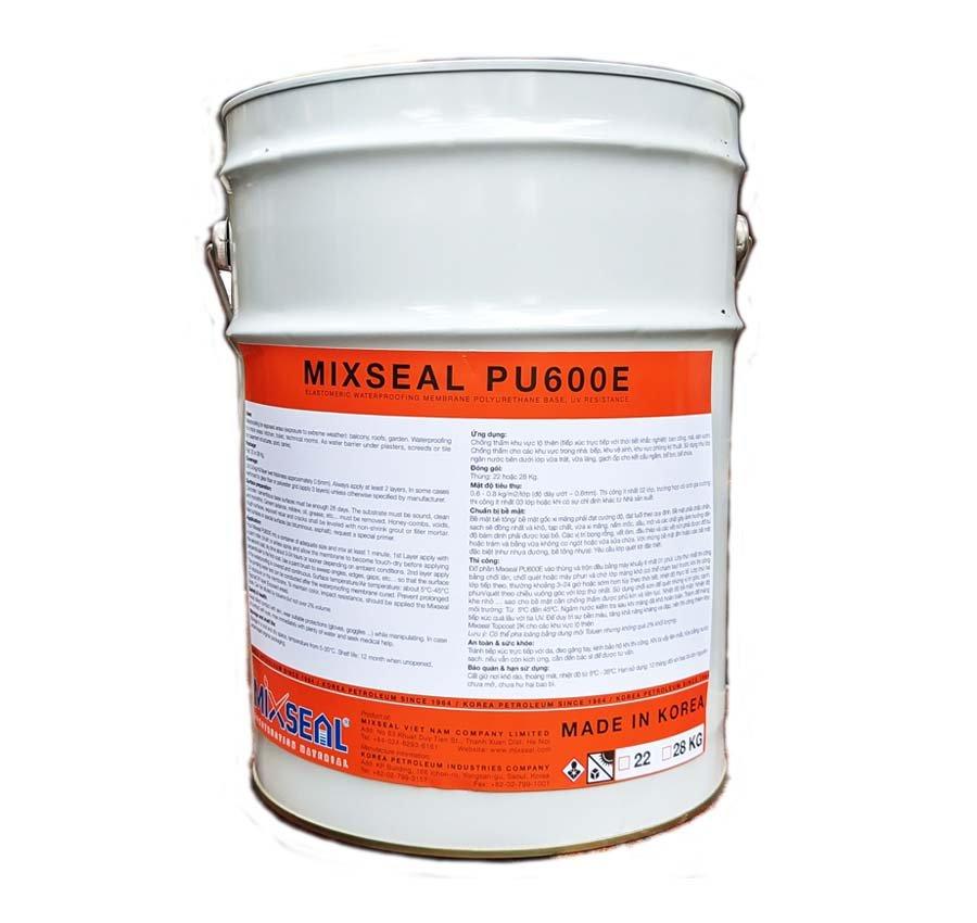 Chất chống thấm Mixseal PU600E thùng 22kg